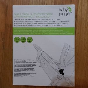 Baby jogger car seat adapter for graco